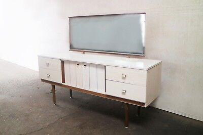 1960's retro mid century dressing table