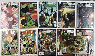 Lot of 11 She Hulk #22, All New Savage #1-4, Sensational Ceremony 1-2, The Thing