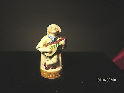Vintage Figural Porcelain Scotch Bottle