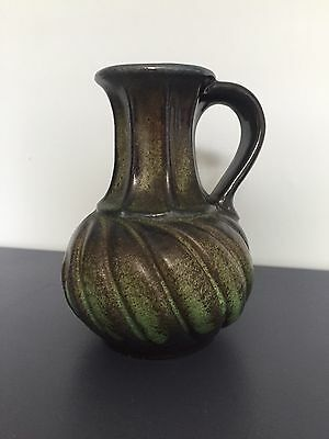 Carstens Jug Vase Fabulous Green twist design finishing touch vintage