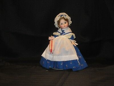 "Madame Alexander Betsy Ross 8"" Vintage 1980s Doll"