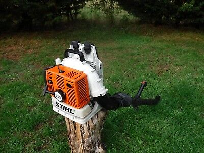 Stihl BR420 petrol back pack leaf blower powerful Good condition - works Well