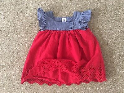Baby Gap Infant Girls Babydoll Top Size 12-18 Months