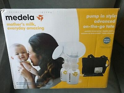Medela Pump In Style Advanced On-the-go-tote (57063)  Double Breastpump