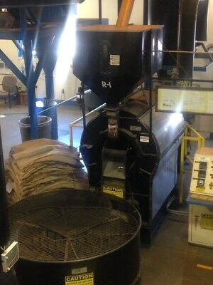 coffee roaster commercial, Probat/Burns 23R 450 lbs capacity + other equip.