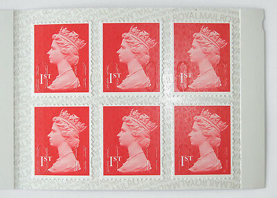 6 x Royal Mail 1st Class Stamps, Self Adhesive