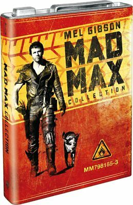 Mad Max Collection - Limited Edition Petrol Can Packaging [Blu-ray] New & Sealed