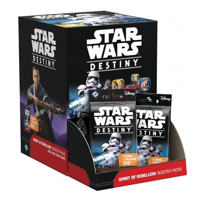 Star Wars Destiny - Spirit of Rebellion Booster Box 36 Count Factory Sealed PL