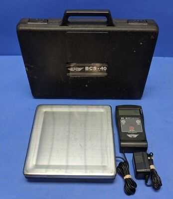 My Weigh BCS-80 Portable Breif Case Scale With  BCS-40 Case