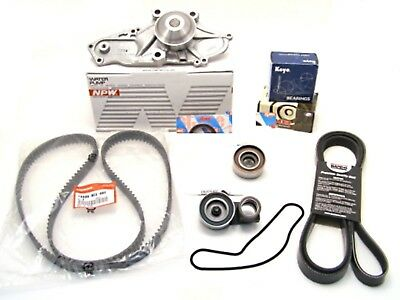 OEM Timing Belt Water Pump Serpentine Belt Kit for Honda Acura 3.0L 3.2L 3.5L V6