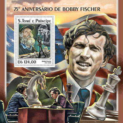 Z08 IMPERF ST18316b Sao Tome and Principe 2018 Bobby Fisher MNH ** Postfrisch