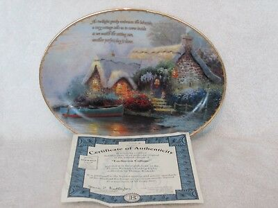 Thomas Kinkade Guiding Lights Plate