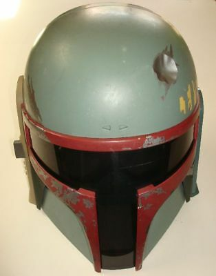 Star Wars Hasbro Boba Fett Electronic Helmet mask 2009 NO ANTENNA works! custom?