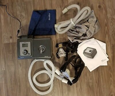 Philips Respironics System One Machine Travel Bag & Cord BiPAP Pro Bi-Flex