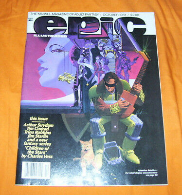 Epic Illustrated #8 Fn/vf 7.0