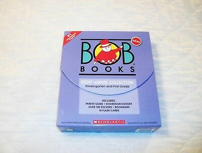 Limited Edition LARGE Size BOB Books Sight Words Kindergarten First Grades