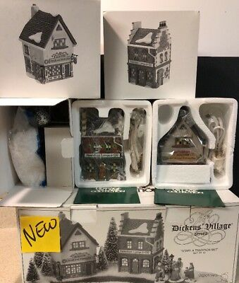 Dept 56 Dickens Village - The Spirit Of Giving - Start a Tradition Set 58327 NEW