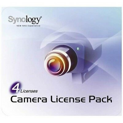 Synology IP Camera 4-License Pack Kit for Surveillance Station - DS1513+ DS1517+