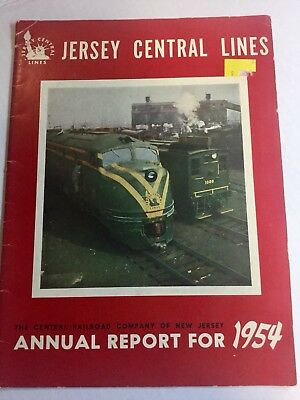 Jersey Central Annual Report 1954