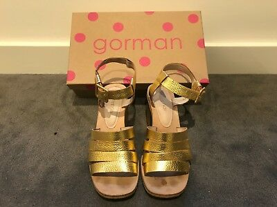 Gorman Mirage heels gold size 38