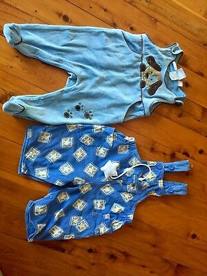 Vintage Baby Overalls Size 00