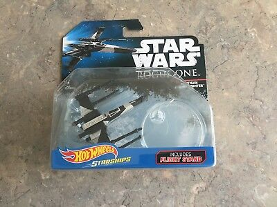 Star Wars Rogue One Partisan X _WING FIGHTER HOT WHEELS STAR SHIPS