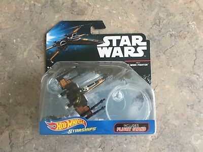 Star Wars X _WING FIGHTER HOT WHEELS STAR SHIPS