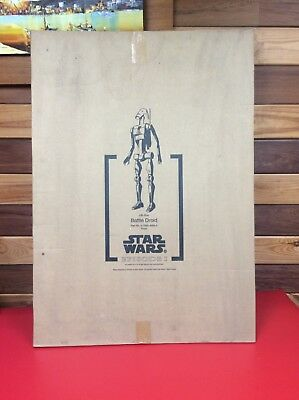 Rare STAR WARS EPISODE I PHANTOM MENACE LIFE SIZE BATTLE DROID 3D STORE DISPLAY
