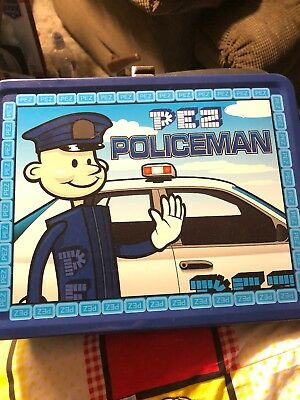 Pez Police Lunch Box