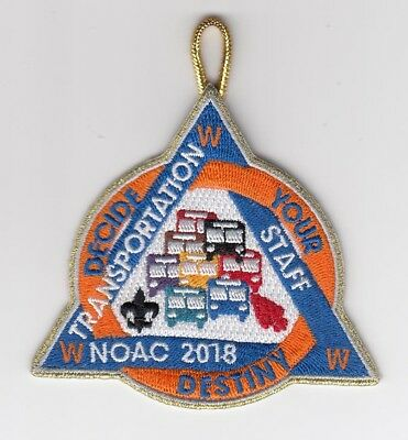 Noac 2018 Transportation Gmy Staff Patch Bsa Order Of The Arrow Limited