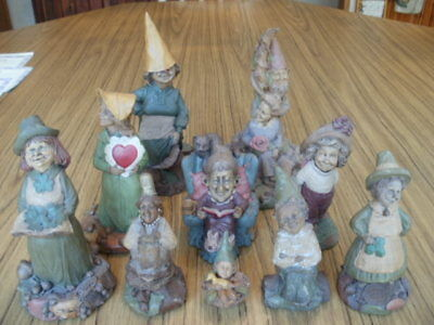 Lot of 10 Tom Clark Gnomes, Marlys,Valentine,Sparkle,Peg,Erin,Colleen,Pearl,more