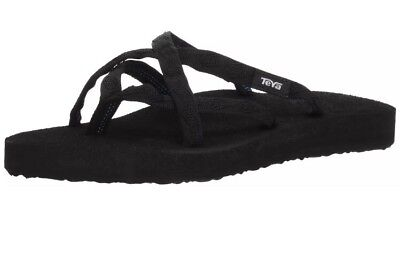 404b526b271d4 TEVA WOMEN S OLOWAHU Flip-Flop Mix Black on Black Size 10 -  15.96 ...