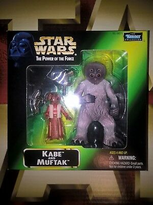 STAR WARS INSIDER FAN CLUB EXCLUSIVE 3.75in  KABE & MUFTAK ACTION FIGURES - MISP