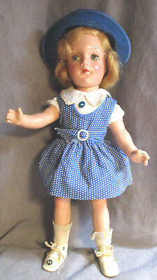 """Vintage Arranbee (R&B) Debuteen Doll - 13"""" - Composition - in Original Outfit"""
