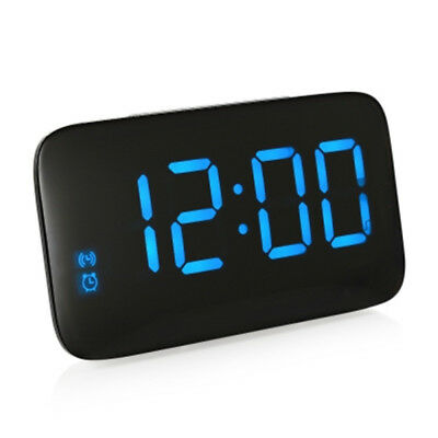 LED Alarm Clocks Large LED Display Voice Control Electronic Snooze Desktop