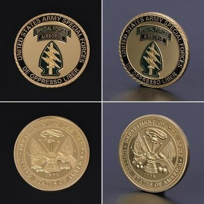 Commemorative Coin Special Forces US America Army Collection Arts Gifts Souvenir