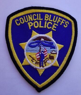 Council Bluffs Police Department Patch
