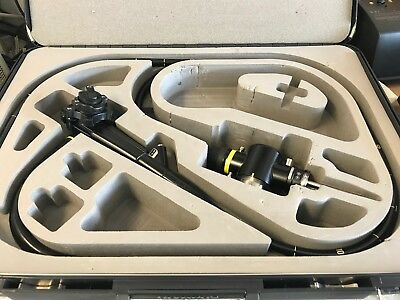 Olympus TJF-100 Duodenoscope Endoscope with Case Excellent Condition