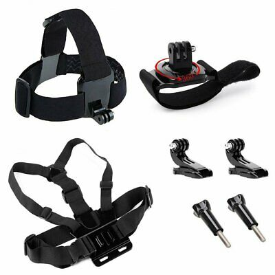 Chest Head Band Strap Belt Screw Mount For GoPro7 6 5 4 3+ 3 2 Xiaomi Yi 4K Plus