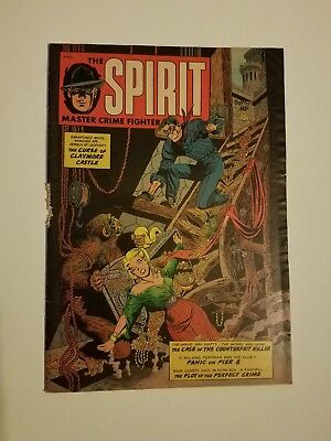 The Spirit #1 Fiction House Golden Age Comic Book Scarce