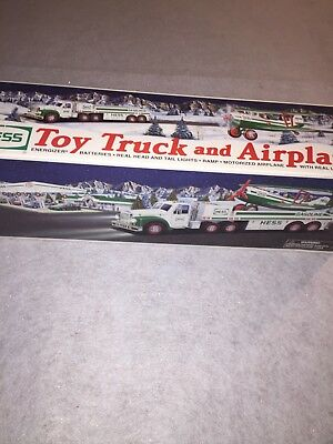 Hess Toy Truck And Airplane 2002 Brand New