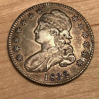 1832 and 1833 50C Capped Bust Half Dollar Excellent condition!