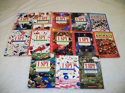 Huge Lot of 13  I SPY LEVEL 1 Readers  by JEAN MARZOLLO