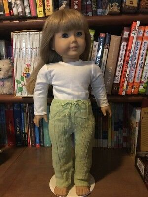 NWOB American Girl green pants from Breezy Day outfit RETIRED