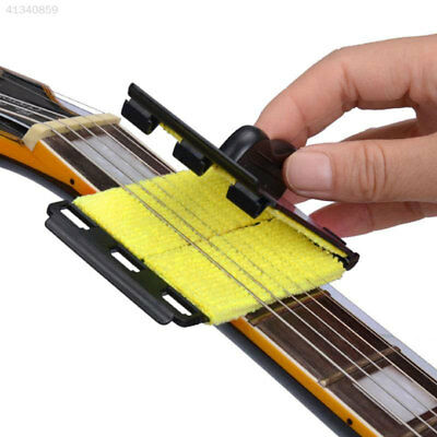 String Scrubber Fingerboard Guitar Cleaner Music Cleaning Tool Accessories