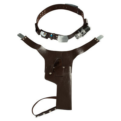 Han Solo Belt Harness Set Strap Holster Holder Star Wars Cosplay Costume Prop