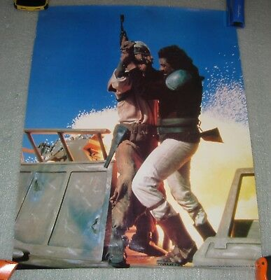 Lot of 4 Rare 1983 Return of the Jedi Star Wars 22x17 Procter and Gamble Posters