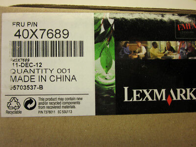 Lexmark 40X7689 FRU Imaging Unit Smart Chip Contact With Cable Genuine OEM NEW