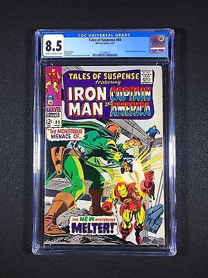 Tales of Suspense #89 CGC 8.5 (1967) - Red Skull and Melter app