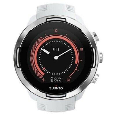 Suunto 9 Baro White Wrist HR GPS Watch (AUST STK)